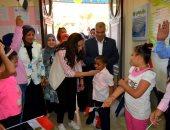 صور.. نائب محافظ البحيرة تشارك الأطفال الأيتام وذوى الاحتياجات فرحتهم بالعيد