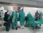 صور.. نجاح جراحة قسطرة قلبية لإنقاذ طفل بمنظومة التأمين الصحى ببورسعيد