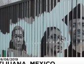 شاهد.. جدارية ذكريات تروي معاناة المهاجرين المكسيكيين فى أمريكا