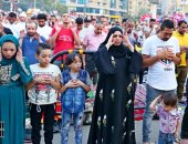 ضبط صاحب فراشة بأوسيم جمع المواطنين بالشارع لأداء صلاة العيد