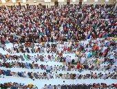 صور.. توافد آلاف المصلين على الأزهر والحسين لأداء صلاة عيد الأضحى