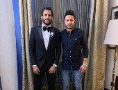 شاهد استعدادات مروان محسن مهاجم الأهلى لحفل زفافه الليلة
