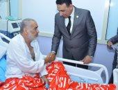 سكرتير عام مطروح يهنئ المرضي بالمستشفي العام بعيد الأضحى المبارك