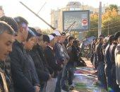 شاهد ..آلاف المصلين يؤدون صلاة عيد الأضحى المبارك بمسجد موسكو الكبير