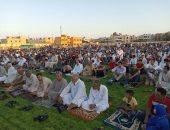 أبناء العريش يشاركون بصور من صلاة العيد فى الساحات الشعبية