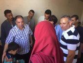 وكيل صحة بنى سويف يتفقد مستشفى ناصر للاطمئنان على مصابى حادث انقلاب سيارة