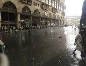 أمطار الرحمة والمغفرة تهطل على الحجاج بالأراضى المقدسة لليوم الثالث