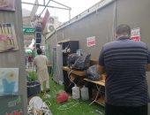 تضرر بعض خيام الحجاج بمنى بسبب الأمطار الغزيرة..ومتطوعون يتدخلون لإصلاحها