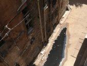 مياه المجارى تحاصر شارع كفافيس بالإسكندرية ..صور
