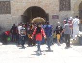 استمتع بجمال قلعة قايتباى فى ثانى أيام عيد الفطر المبارك .. لايف