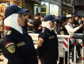 فيديو.. الشرطة النسائية تؤمن فرحة السيدات بعيد الأضحى