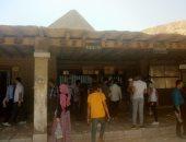 شاهد.. إقبال المصريين على الأهرامات منذ الساعات الأولى لثانى أيام العيد
