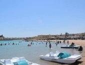 صو.. إقبال كبير على شواطئ الغردقة فى ثان أيام عيد الأضحى المبارك