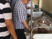 صحة بنى سويف: احتجاز 7 حالات وخروج الباقى فى حادث انقلاب سيارة ربع نقل