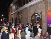 صور.. عروض إضافية بالمسارح لتغطية الإقبال الجماهيرى الكبير خلال إجازة العيد