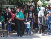 حديقة حيوان الجيزة تستقبل 70 ألف زائر ثالث أيام العيد..صور