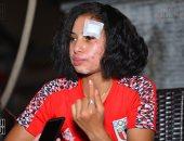 بطلة أفريقيا للدراجات: تريزيجيه نجمى المفضل وبتابع محمد صلاح