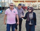 صور.. حملات لضبط السلع الفاسدة وتوفير 3 سيارات إسعاف بشاطئ جمصة
