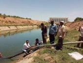صور.. أعمال صيانة وإصلاح لأحد مآخذ مياه الشرب بنصر النوبة فى أسوان
