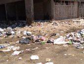 قارئ يشكو من تراكم القمامة بمنطقة شباب أكتوبر بمحافظة بورسعيد