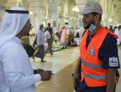 رئاسة الحرمين: 550 ألف ساعة عمل لخدمة الحجيج وتوجيههم بالمسجد الحرام