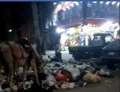 قارئ يشكو من انتشار القمامة بشارع عبد المنعم رياض بالوراق