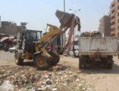 الجيزة ترفع 35 ألف طن مخلفات أضاحى وقمامة خلال العيد