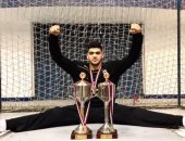 عبد الرحمن حميد أفضل لاعب فى مباراة مصر وسلوفينيا فى كأس العالم لناشئى اليد