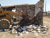 صور.. حملة مكبرة لإزالة التعديات على الأراضى الزراعية خلال عيد الأضحى بالفيوم