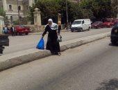 قارئ يشكو ارتفاع رصيف شارع عبد القادر طه بروض الفرج