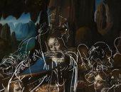 شاهد الرسومات الأولية الخفية فى لوحة عذراء الصخور لـ ليوناردو دافنشى