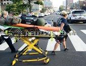 الصور الأولى لإطلاق مسلح النار على الشرطة فى مدينة فيلادلفيا الأمريكية