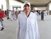 """""""محمد شحاته"""" يشارك بصورة له أثناء أداء مناسك الحج ويدعو لمصر وشعبها"""