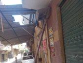 قارئ يرصد وجود تلف بعامود نور بشارع الأندلس فى عزبة النخل بمحافظة القاهرة