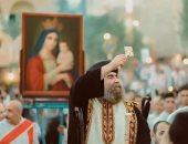 الأنبا يؤانس يترأس صلوات عشية بنهضة العذراء بدير درنكة مساء اليوم