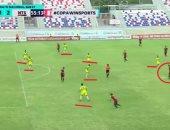 لاعب يسجل هدفاً عالمياً على طريقة مارادونا فى الدوري الكولومبي.. فيديو