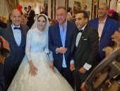 الخطيب و حسن شحاتة فى زفاف ابنة مدير منتخب الناشئين