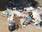 شكوى من عدم وجود صناديق القمامة بمدينة الأطباء فى الإسكندرية