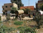 قارئ يشكو من تفريغ وحدات الصرف الصحى بشوارع قرية شنشور بالمنوفية