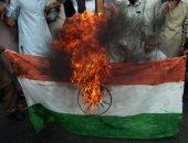 الآلاف يتظاهرون فى بريطانيا احتجاجا على قرار الهند بإلغاء الحكم الذاتى بكشمير
