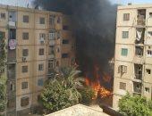 انتداب المعمل الجنائي لمعاينة حريق شقة فى محل بمدينة نصر