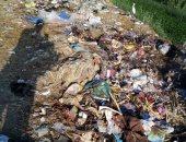 القمامة تحاصر مدخل مركز كفر الدوار فى البحيرة
