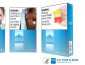 """""""FDA"""" تطالب بوضع 12 صورة تحذيرية ملونة جديدة على علب السجائر"""