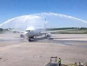 بعد توقف أكثر من 5 سنوات..مطار سبها الدولى يستقبل أول رحلة للخطوط الليبية