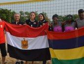 سيدات الطائرة الشاطئية يهزمون النيجر فى  الألعاب الأفريقية