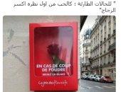 شعب رومانسى بطبعه.. تداول صورة لصندوق طوارئ للحب من أول نظرة فى باريس