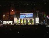 معهد باليه أكاديمية الفنون يشارك فى مهرجان صربى بتنورة ورقصات شعبية.. فيديو