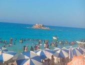 صور.. تعرف على أشهر وأجمل شواطئ مدينة مرسى مطروح