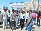 السياحة و المصايف بالإسكندرية تحرر مخالفات للشواطئ بسبب الأسعار