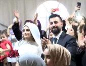 شاهد.. تمسك الشباب بعادات وتقاليد الزواج القديمة فى الأردن